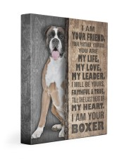 Boxer - I am your friend 11x14 Gallery Wrapped Canvas Prints front