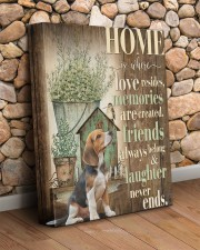 Beagle - Home 11x14 Gallery Wrapped Canvas Prints aos-canvas-pgw-11x14-lifestyle-front-18
