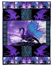 "I freaking love dragons Small Fleece Blanket - 30"" x 40"" front"