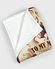 """To my husband - I love you always and forever Large Fleece Blanket - 60"""" x 80"""" aos-coral-fleece-blanket-60x80-lifestyle-front-08"""
