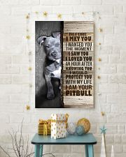 I love Pit Bulls 24x36 Poster lifestyle-holiday-poster-3