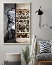 I love Pit Bulls 24x36 Poster lifestyle-poster-1