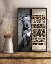 I love Pit Bulls 24x36 Poster lifestyle-poster-3