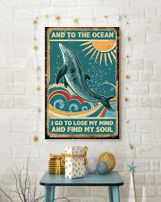 Vintage dolphin 24x36 Poster lifestyle-holiday-poster-3
