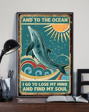 Vintage dolphin 24x36 Poster lifestyle-poster-2