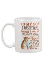 To my son - You are always my little boy Mug back