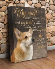 Corgi - My mind still talks to you 11x14 Gallery Wrapped Canvas Prints aos-canvas-pgw-11x14-lifestyle-front-18