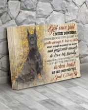 Great dane - God once said 14x11 Gallery Wrapped Canvas Prints aos-canvas-pgw-14x11-lifestyle-front-13