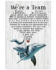 We are a team 24x36 Poster front