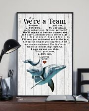 We are a team 24x36 Poster lifestyle-poster-2