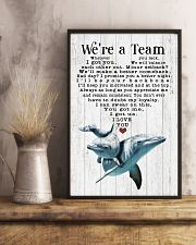 We are a team 24x36 Poster lifestyle-poster-3