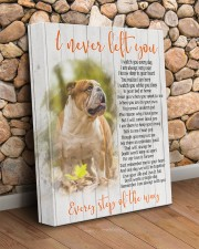 English bulldog - I never left you 11x14 Gallery Wrapped Canvas Prints aos-canvas-pgw-11x14-lifestyle-front-18
