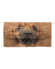 Amazing Bloodhound Cloth face mask front