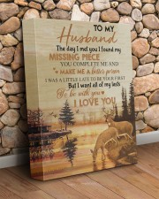 To my husband - You are my missing piece 11x14 Gallery Wrapped Canvas Prints aos-canvas-pgw-11x14-lifestyle-front-18