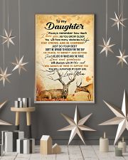 My daughter - I'll always be there to support you 11x17 Poster lifestyle-holiday-poster-1
