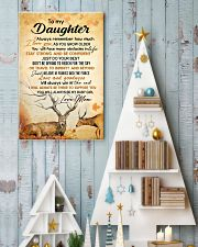 My daughter - I'll always be there to support you 11x17 Poster lifestyle-holiday-poster-2