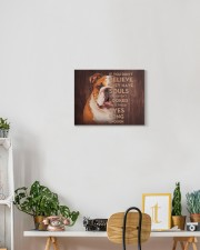 English bulldog - Just look into their eyes 14x11 Gallery Wrapped Canvas Prints aos-canvas-pgw-14x11-lifestyle-front-03