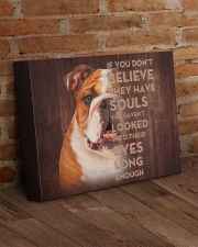 English bulldog - Just look into their eyes 14x11 Gallery Wrapped Canvas Prints aos-canvas-pgw-14x11-lifestyle-front-09