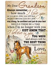 Nana to my grandson - You are the best 11x17 Poster front
