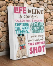 Labrador - Life is like a camera 11x14 Gallery Wrapped Canvas Prints aos-canvas-pgw-11x14-lifestyle-front-18