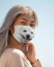 Amazing Samoyed Cloth face mask aos-face-mask-lifestyle-19