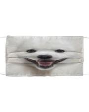 Amazing Samoyed Cloth face mask front