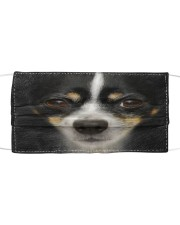 Amazing Rat Terrier Cloth face mask front