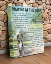 Great dane 1 - Waiting at the door 11x14 Gallery Wrapped Canvas Prints aos-canvas-pgw-11x14-lifestyle-front-18
