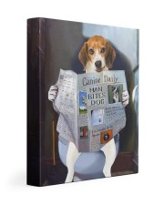 Beagle - Canine Daily 11x14 Gallery Wrapped Canvas Prints front
