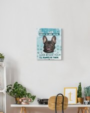 French Bulldog - I'll always be there 11x14 Gallery Wrapped Canvas Prints aos-canvas-pgw-11x14-lifestyle-front-03