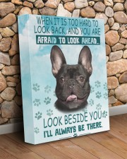 French Bulldog - I'll always be there 11x14 Gallery Wrapped Canvas Prints aos-canvas-pgw-11x14-lifestyle-front-18