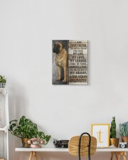 Bullmastiff - I am your friend 11x14 Gallery Wrapped Canvas Prints aos-canvas-pgw-11x14-lifestyle-front-03