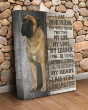 Bullmastiff - I am your friend 11x14 Gallery Wrapped Canvas Prints aos-canvas-pgw-11x14-lifestyle-front-18