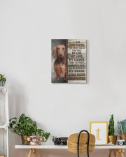 Dachshund - I am your friend 11x14 Gallery Wrapped Canvas Prints aos-canvas-pgw-11x14-lifestyle-front-03
