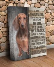 Dachshund - I am your friend 11x14 Gallery Wrapped Canvas Prints aos-canvas-pgw-11x14-lifestyle-front-18