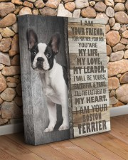 Boston terrier - I am your friend 11x14 Gallery Wrapped Canvas Prints aos-canvas-pgw-11x14-lifestyle-front-18