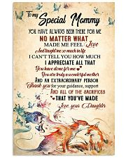 To my mom - You are truly a wonder mother 11x17 Poster front