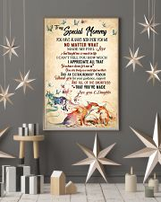 To my mom - You are truly a wonder mother 11x17 Poster lifestyle-holiday-poster-1