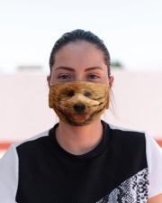 Amazing Goldendoodle Cloth face mask aos-face-mask-lifestyle-03