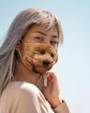 Amazing Goldendoodle Cloth face mask aos-face-mask-lifestyle-19
