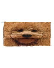 Amazing Goldendoodle Cloth face mask front