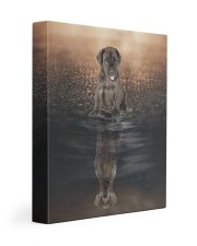 Great dane - I'm not a puppy anymore 11x14 Gallery Wrapped Canvas Prints front