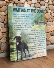 Labrador - Waiting at the door  11x14 Gallery Wrapped Canvas Prints aos-canvas-pgw-11x14-lifestyle-front-18