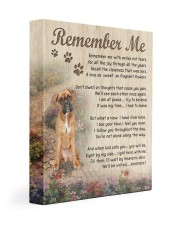 Boxer - Remember me 11x14 Gallery Wrapped Canvas Prints front
