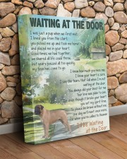 Waiting at the door - English Mastiff 11x14 Gallery Wrapped Canvas Prints aos-canvas-pgw-11x14-lifestyle-front-18