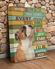English bulldog - I will be watching you 11x14 Gallery Wrapped Canvas Prints aos-canvas-pgw-11x14-lifestyle-front-18