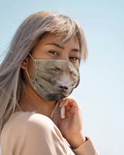Amazing  Chesapeake Bay Retriever Cloth face mask aos-face-mask-lifestyle-19