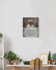 English bulldog- I'll be there 11x14 Gallery Wrapped Canvas Prints aos-canvas-pgw-11x14-lifestyle-front-03