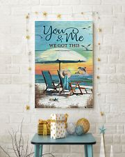 You and me we got this 24x36 Poster lifestyle-holiday-poster-3
