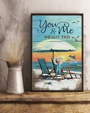 You and me we got this 24x36 Poster lifestyle-poster-3